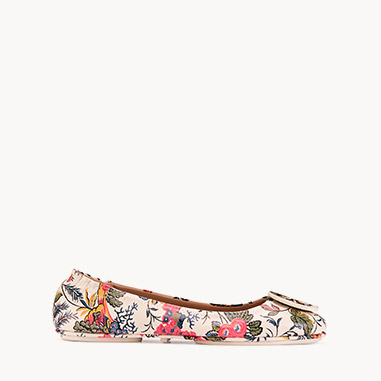 Shop Tory Burch Ballet Flats